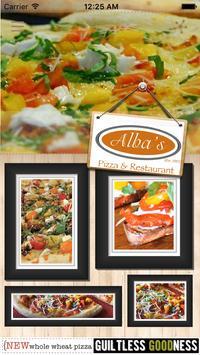 Alba's Pizza poster