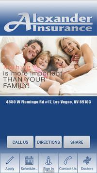 Alexander Insurance poster