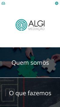 Algi Mediação poster
