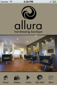 Allura Hairdressing Boutique poster