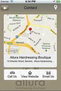 Allura Hairdressing Boutique apk screenshot