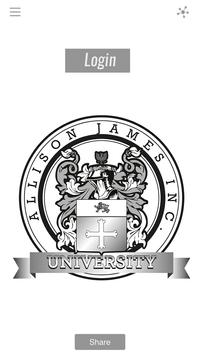 Allison James University apk screenshot