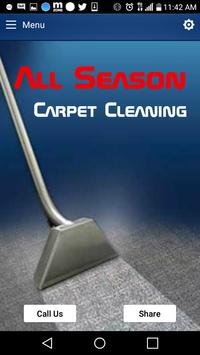 All Season Carpet Cleaning poster