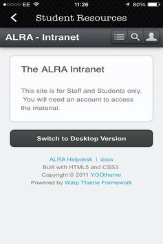 alra. screenshot 3