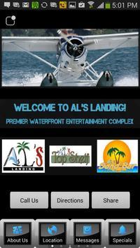 AL'S Landing poster
