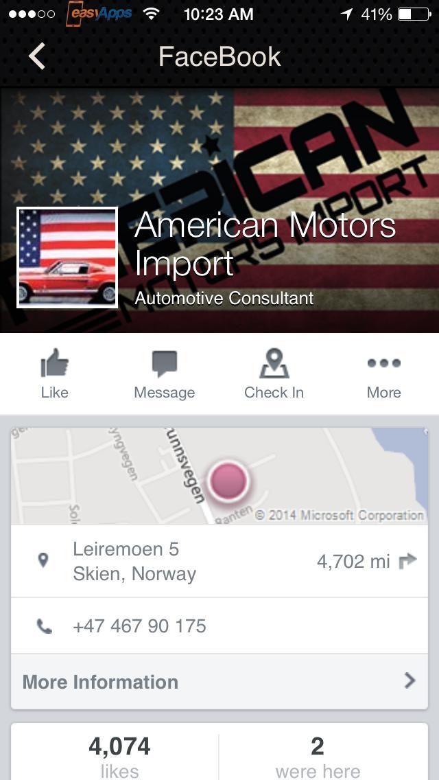 American Motors Import poster