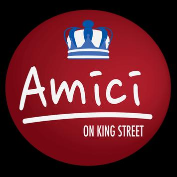 Amici on King Street poster