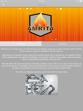 Amrita Plumbing & Heating apk screenshot