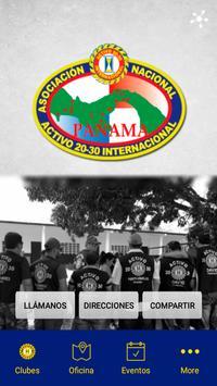 ANCA 20-30 Panama poster