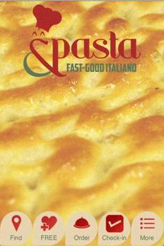 &Pasta poster