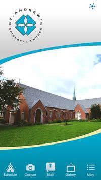 St. Andrew's Episcopal Houston poster
