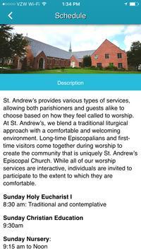 St. Andrew's Episcopal Houston screenshot 1