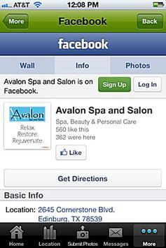 Avalon Spa and Salon poster