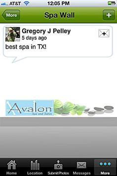Avalon Spa and Salon apk screenshot
