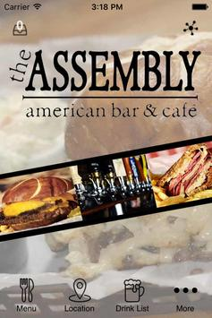 The Assembly American Bar poster