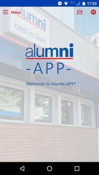 Alumni English App poster