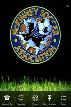 McKinney Soccer Association poster