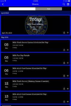 McKinney Soccer Association screenshot 2