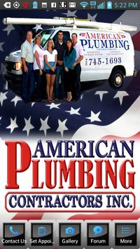 American Plumbing Contractors poster