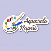 Aquarela Papéis icon