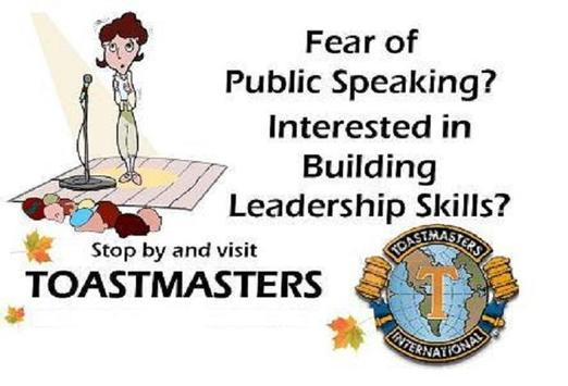 ARPB Toastmasters poster