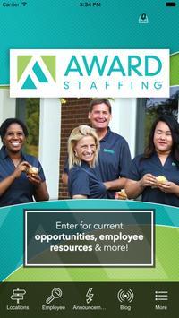 Award Staffing poster