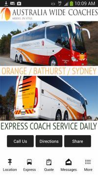 Australia Wide Coaches poster