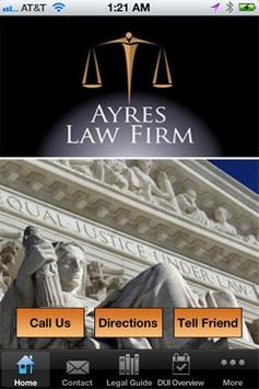 Ayres Law Firm poster