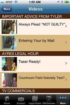 Ayres Law Firm screenshot 1
