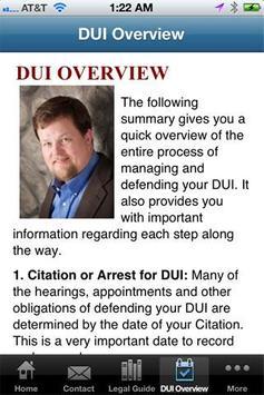 Ayres Law Firm screenshot 2