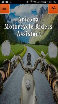 AZ Motorcycle Riders Assistant poster