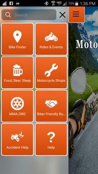 AZ Motorcycle Riders Assistant screenshot 1