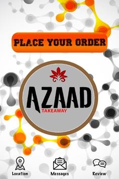 Azaad Takeaway poster