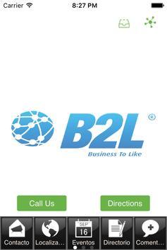 B2L poster