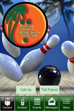 Bowling Centers Florida BCAF poster