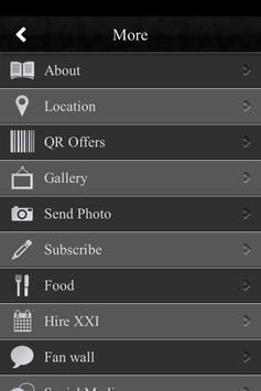 XXI Bar & Lounge screenshot 1