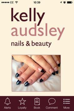 Kelly Audsley Nails & Beauty poster