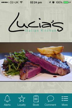 Lucia's Italian Kitchen poster
