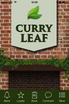 Curry Leaf Restaurant, Ashford poster