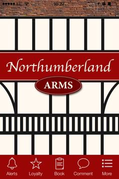 Northumberland Arms, Newcastle poster