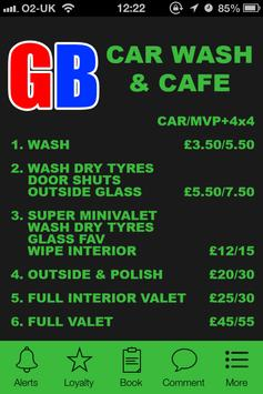 Gb Carwash & Cafe, Manchester poster