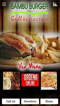 Bambu Burger Grill Restaurant poster