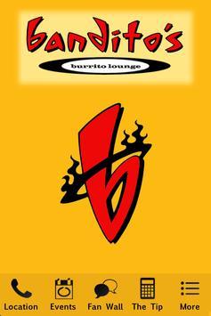 Bandito's Burrito Lounge-poster