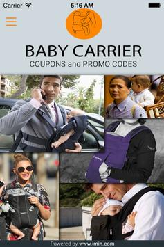 Baby Carrier Coupons - Im In! poster