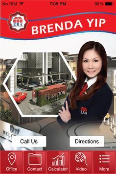 Brenda Yip Property Agent poster