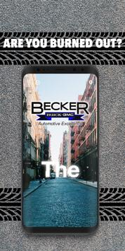 Becker Buick GMC poster