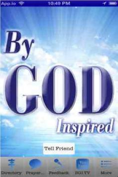 By God Inspired poster