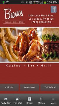 Beanos Casino Las Vegas poster