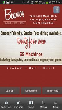 Beanos Casino Las Vegas apk screenshot