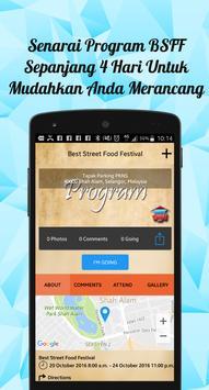 BSFF-Best Street Food Festival apk screenshot